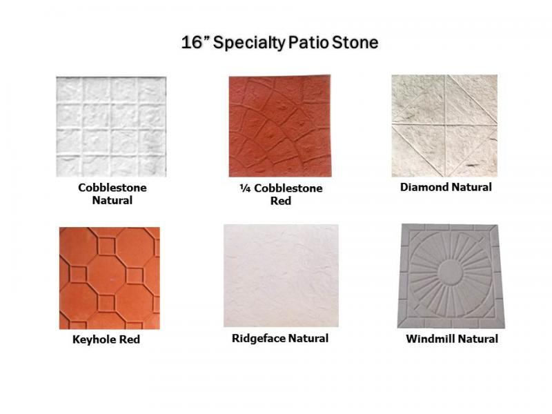 Specialty Patio Stone